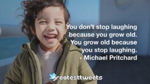 Michael Pritchard Quotes