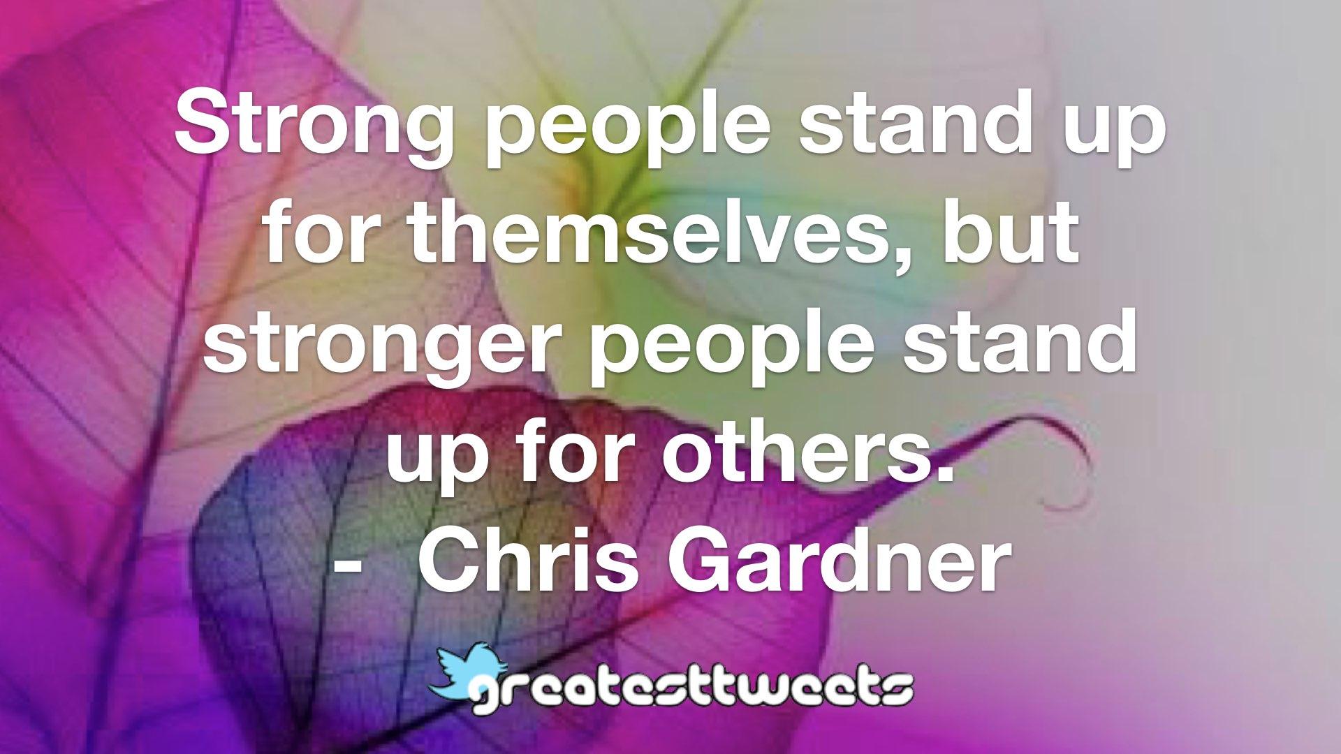 Chris Gardner Quotes   GreatestTweets.com